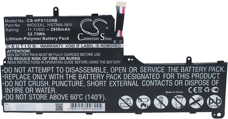 Replacement Battery for HP Split 13, Split 13 x 2, Split 13-M010DX