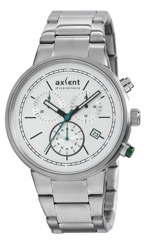 Axcent Herren-Armbanduhr Strive Analog Quarz Edelstahl IX21973-632