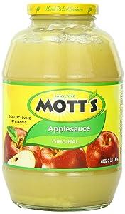 Motts Applesauce, 144 Ounce