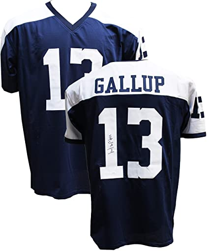 Authentic Michael Gallup Autographed Signed Football Jersey (JSA COA) -  Dallas Cowboys WR 3ed4958499c8