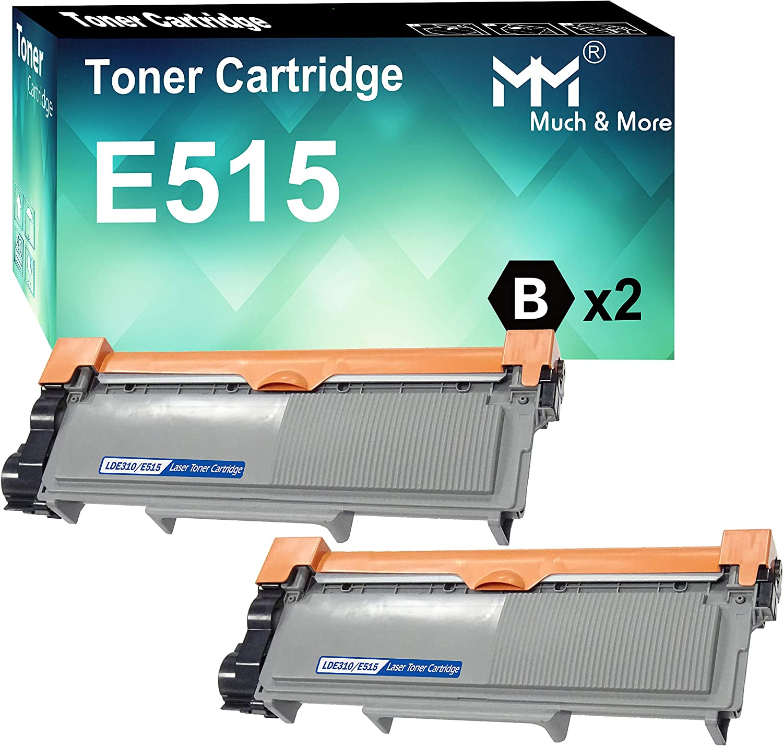 2-Pack Black Compatible Dell 593-BBKE C2KTH Toner Cartridge Used for Dell E310dw E514dw E515dn E515dw Printers, Sold by MuchMore