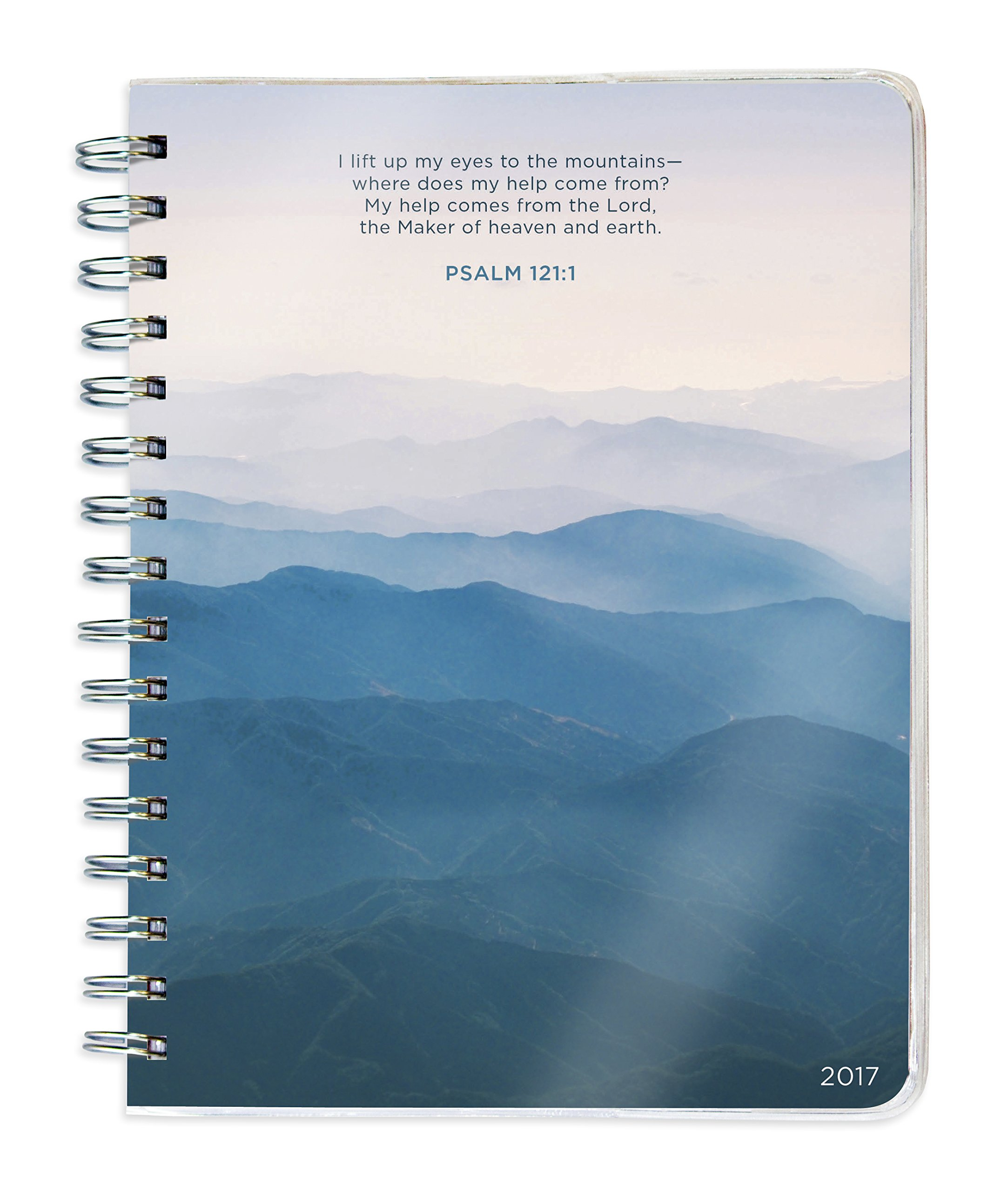 psalms 17 month 2016 planner