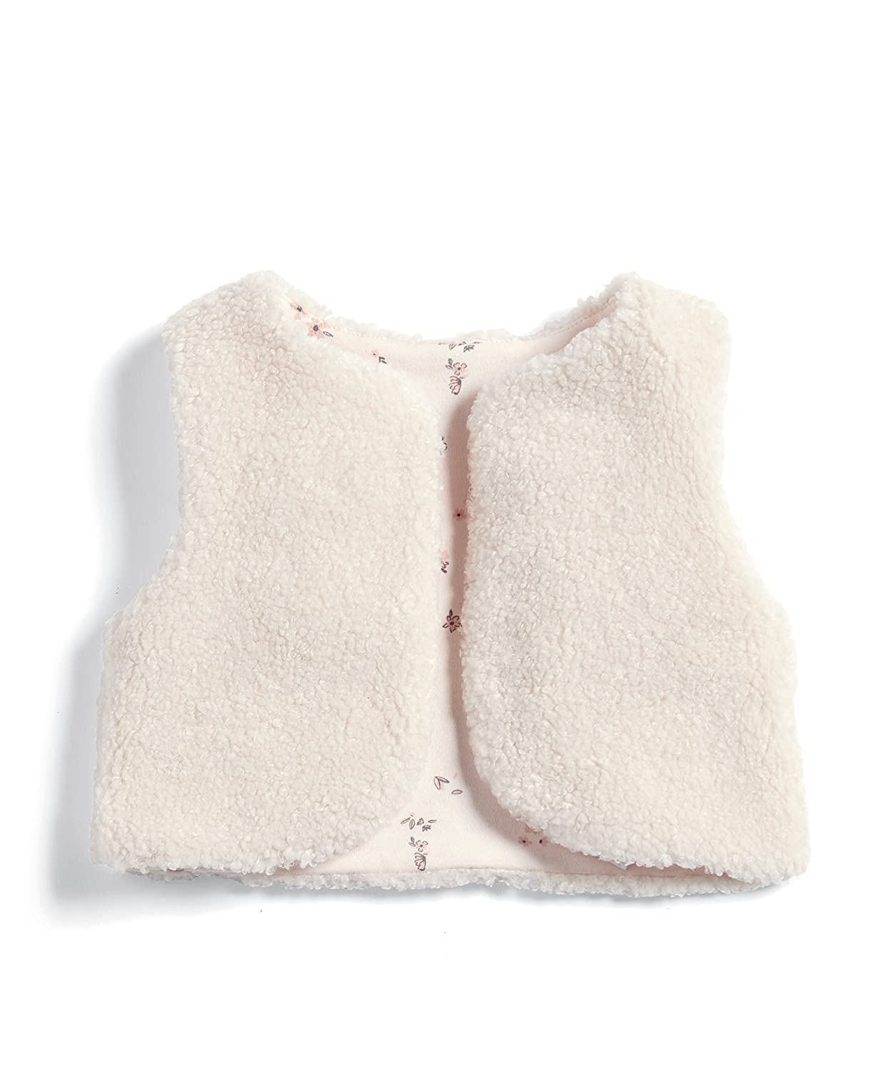 Mamas & Papas Baby Girls' Sherpa Gilet Mamas and Papas