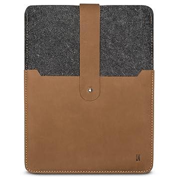 b152032064919 KANVASA iPad Pro 9.7   iPad iPad Air 2 Filztasche Woods - Edle Leder Filz