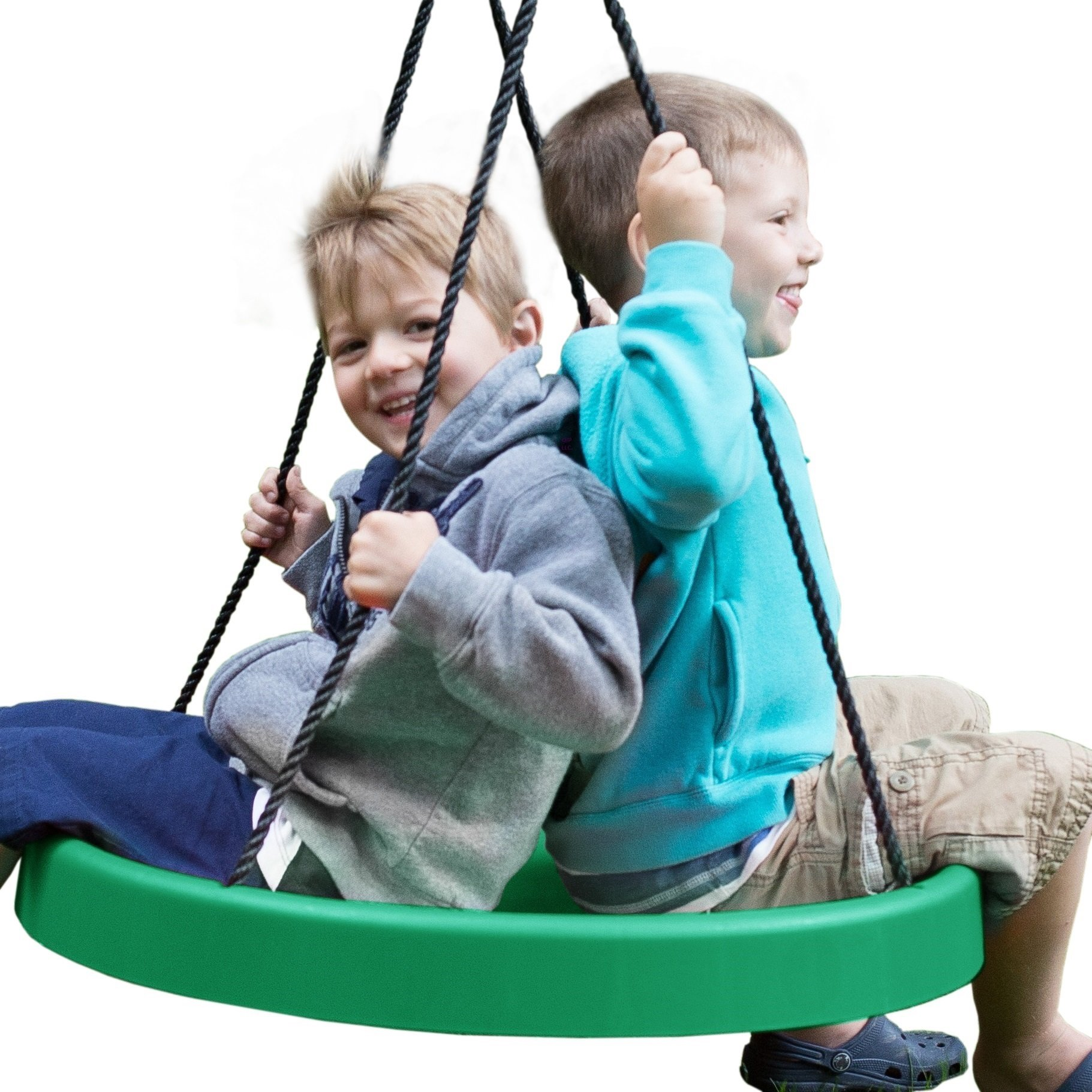 Super Spinner Swing--Fun, Easy to Install on Swing Set or Tree! by Super Spinner
