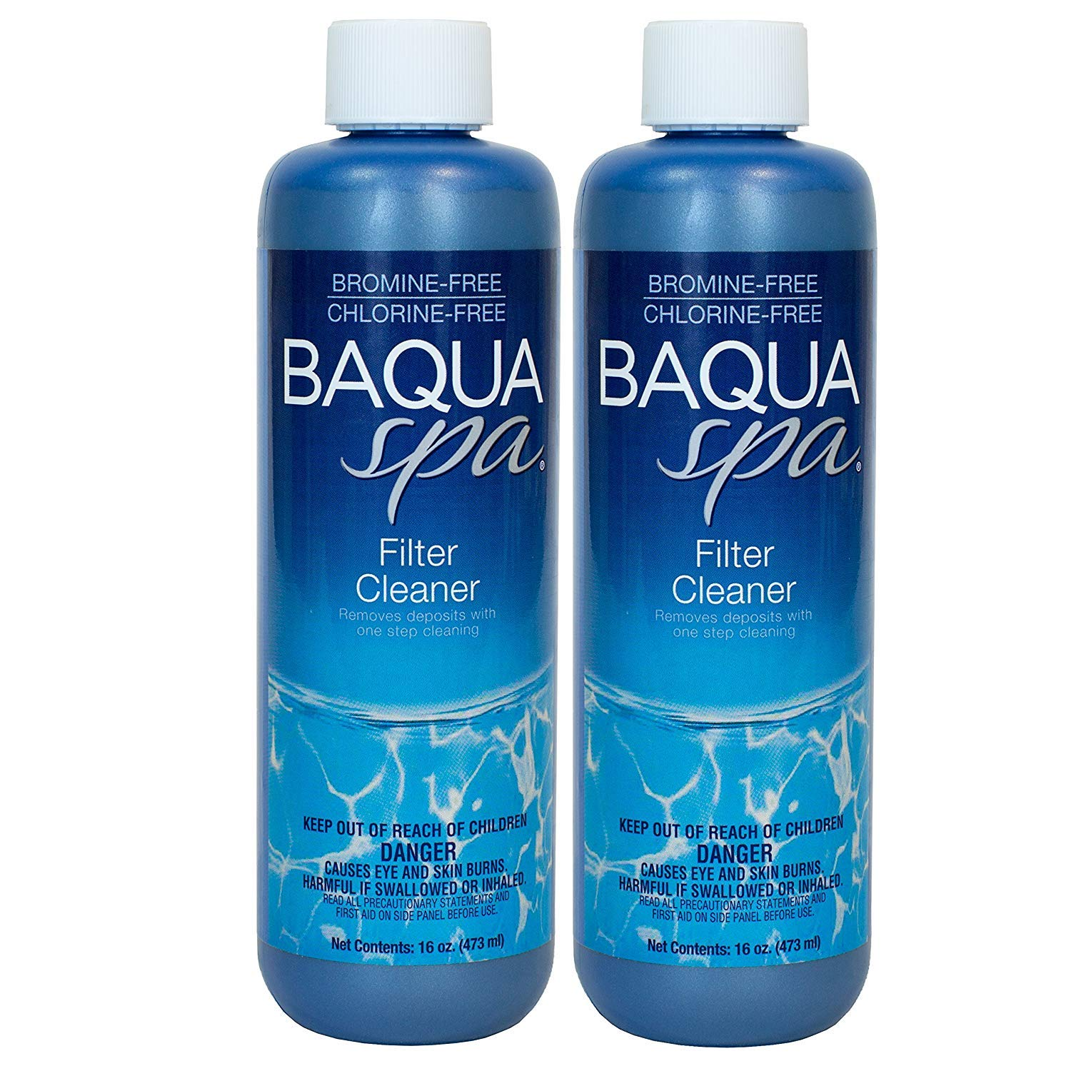Baqua Spa Filter Cleaner (1 pt) (2 pack) by Baqua Spa