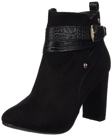 112f99b822b XTI Botin Sra Antelina Negro, Zapatos de tacón con Punta Cerrada para  Mujer, 36 EU: Amazon.es: Zapatos y complementos