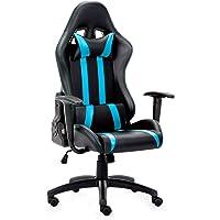 IntimaTe WM Heart La Sedia Gaming, Sedia da Gioco di Pu, Sedia Girevole ergonomica