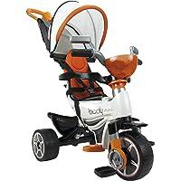 INJUSA Triciclo Body MAX para bebés a Partir de 10 Meses con Control Parental de dirección, Color Naranja (3254)