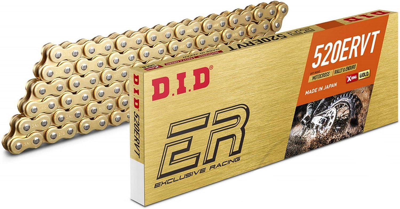 D I D Did Offroad Kette 520 Ervt G G 520 Teilung Gold 118 Glieder Auto