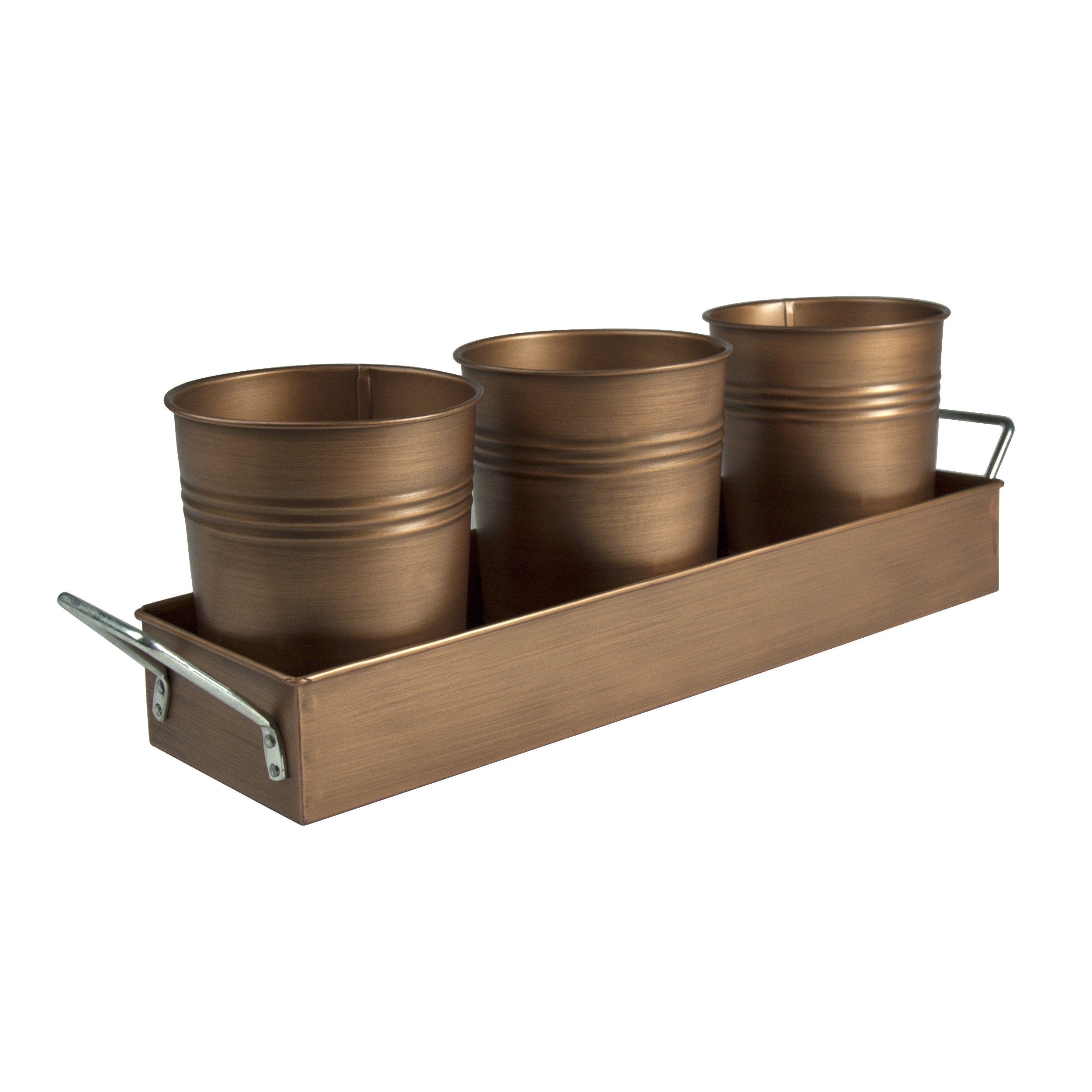 Artland 10391 Antique Copper Caddy, Bronze by Artland