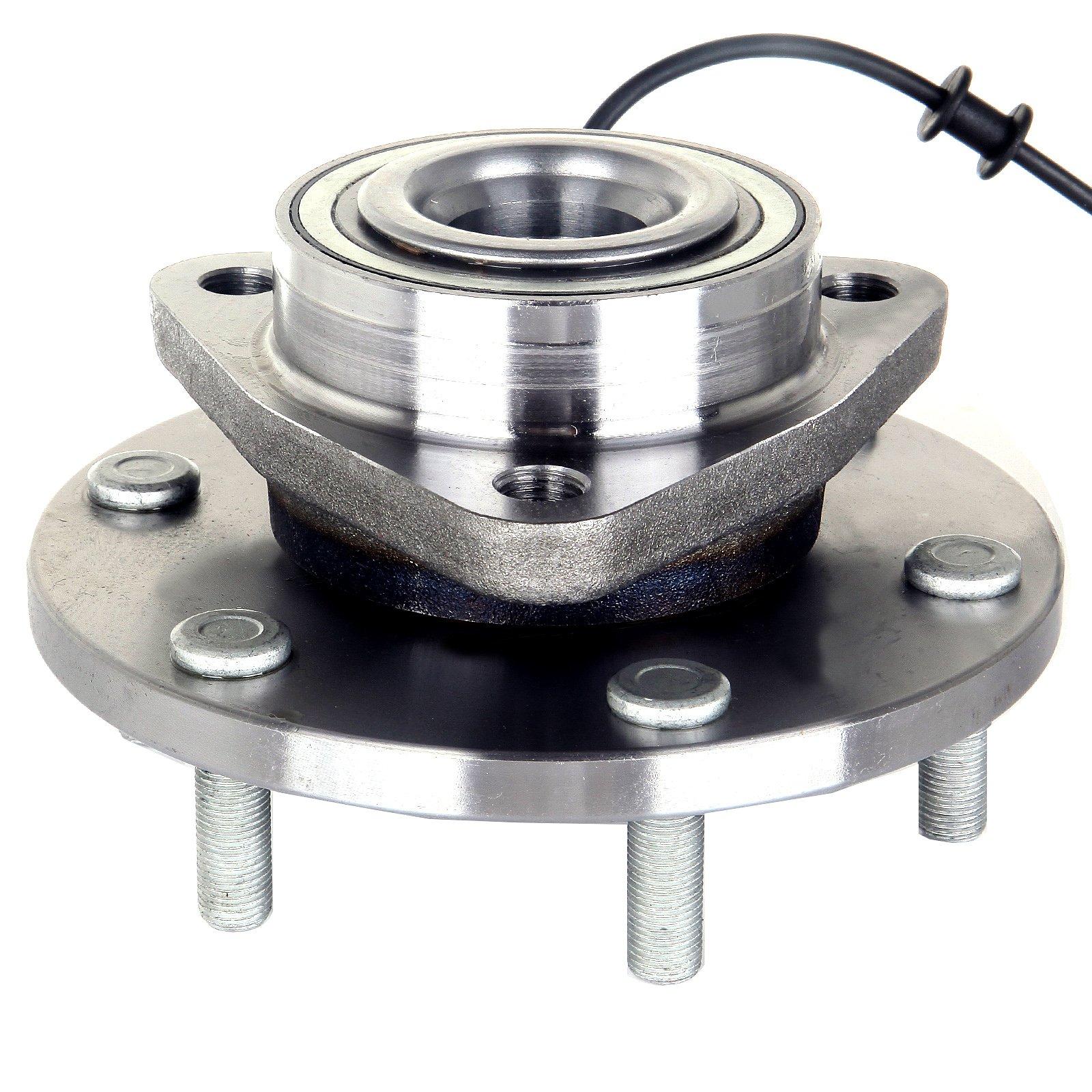 ECCPP New Front Wheel Hub Bearing Assembly 515066 for Nissan Armada Titan Pathfinder QX56 6 Lug W/ABS (515066 x1)