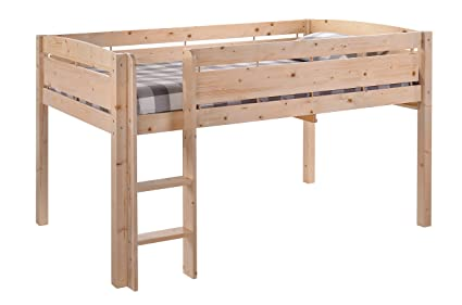 Amazon Com Canwood Whistler Junior Loft Bed Natural Twin Sized