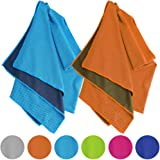 Amazon Price History for:Vancle Cooling Towels 2 PACK, Cooling Towel for Instant Cooling Relief in Hot Environment, Ice Towels Stay Cool for Sports and Fitness
