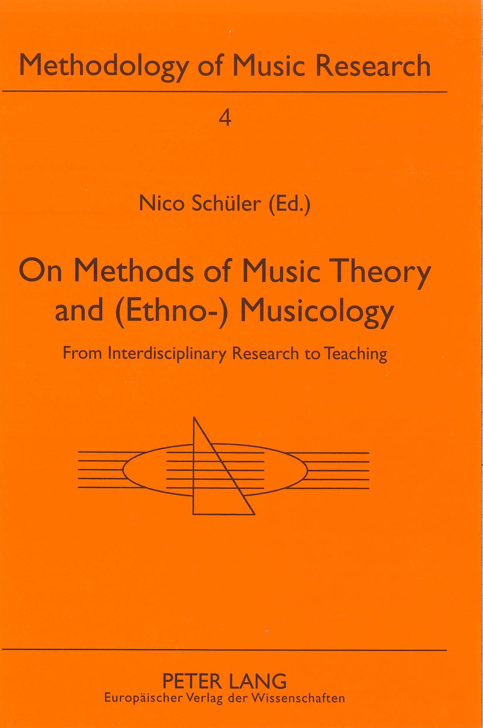 Download On Methods of Music Theory and (Ethno-) Musicology: From Interdisciplinary Research to Teaching (Methodology of Music Research, Methodologie Der Musikforshun) pdf epub