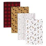 Trend Lab Northwoods 4 Piece Blankets
