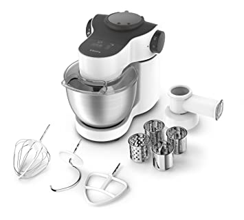 krups ka2521 kchenmaschine master perfect 4 l 700 w inklusive schnitzelwerk edelstahl - Kcheninnovationen Perfekter Kuchenmixer
