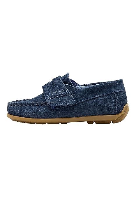 next Niños Mocasines De Ante Penny (Niño Pequeño) Azul Marino EU 30.5: Amazon.es: Zapatos y complementos