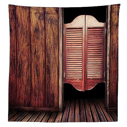 Western Decor Mantel antiguo vintage rústico salvaje oeste, vaquero ...