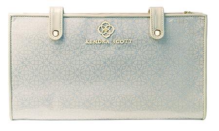 Kendra Scott Jet Set Jewelry Travel Organizer Metallic Logo