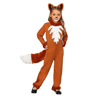 Girl's Sly Fox Costume: Clothing