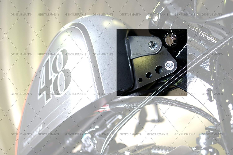 Tanklift Tankerh/öhung Tankumbau Tankh/öherlegung Sportster 48 Harley Sportster ab BJ 2004