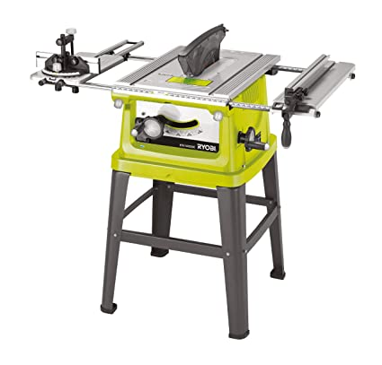 Groovy Ryobi 10 Inch Table Saw With Sliding Carriage 254 Mm Old Version Home Interior And Landscaping Mentranervesignezvosmurscom