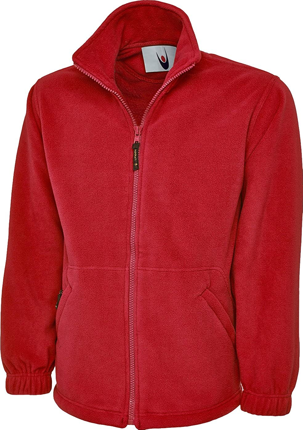 Uneek UC604 Mens Adult Classic Full Zip Micro Fleece Coat Jacket Size XS-6XL Shoppersbay