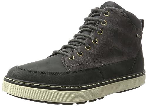 Geox Men s U Mattias B ABX B Ankle Bootie  Amazon.co.uk  Shoes   Bags 763a422cb554