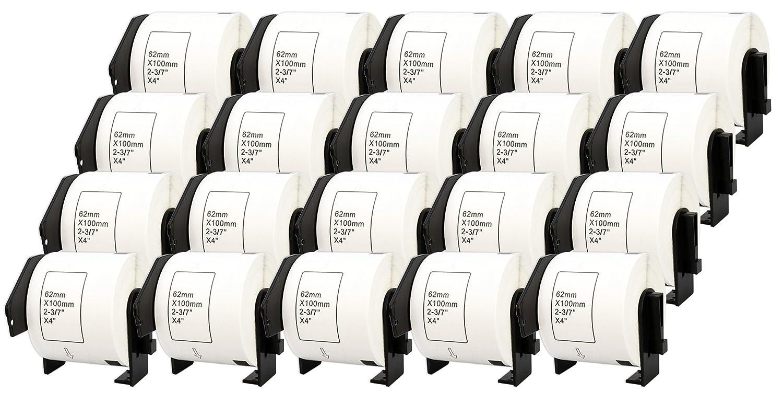 10x DK-11201 29 x 90 mm Adressetiketten (400 Stück Rolle) kompatibel für Brother P-Touch QL-1050 QL-1060N QL-1110NWB QL-1100 QL-500 QL-500BW QL-570 QL-580 QL-700 QL-710W QL-800 QL-810W QL-820NWB B074RT3GSQ | Erschwinglich