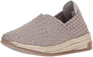 BOBS from Skechers Women's High Jump-Sporty Espadrille Platform,taupe,6.5 M US