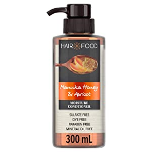 Hair Food Hair Food Manuka Honey and Apricot Moisture Conditioner, 10.1 Ounce
