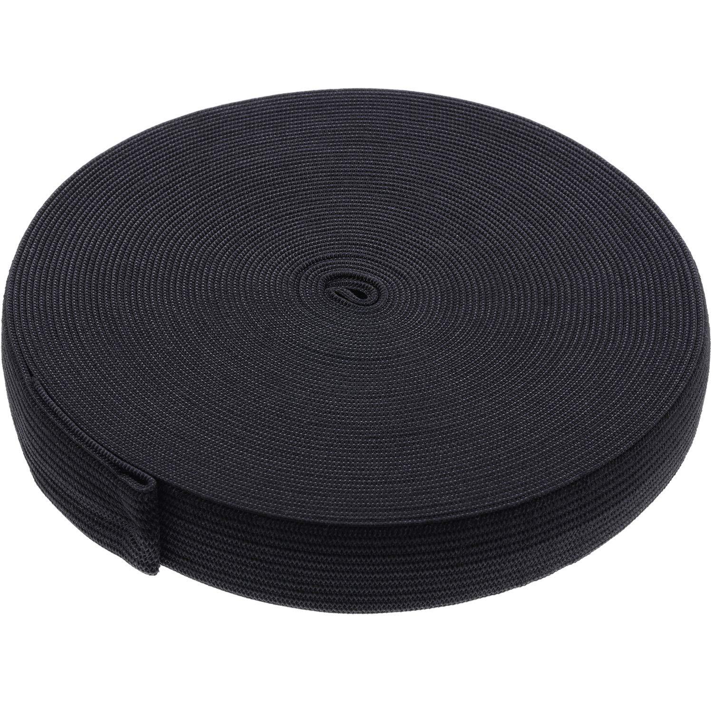 eBoot Black Elastic Spool (1.5 Inch x 11 Yard) 4337000305
