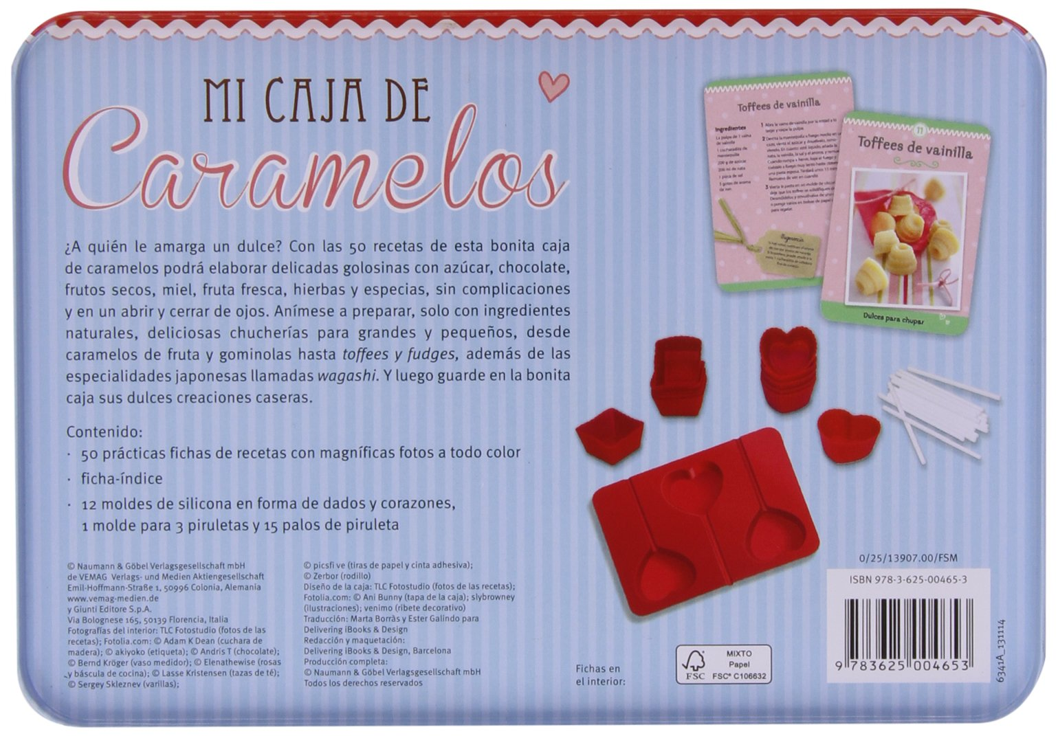 MI CAJA DE CARAMELOS - NGV: VARIOS(004653): 9783625004653: Amazon.com: Books