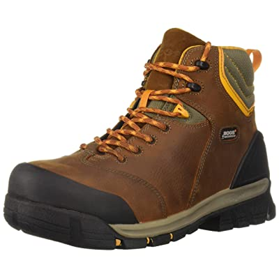 BOGS Men's Bed Rock Mid Pp Industrial Boot: Shoes