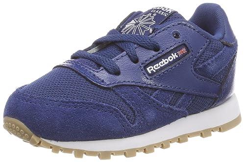 Reebok Cl Leather Estl, Zapatillas de Estar por casa Unisex bebé: Amazon.es: Zapatos y complementos