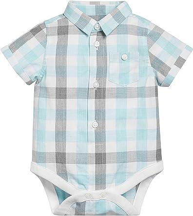 next Bebé Niño Body Camisa Cuadros (0 Meses - 2 Años) Corte ...