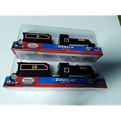 Gulliane Thomas Trackmaster Donald and Douglas Tr ains: Toys & Games