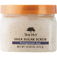 Tree Hut Shea Sugar Scrub, Pomegranate Acai, 18 Ounce