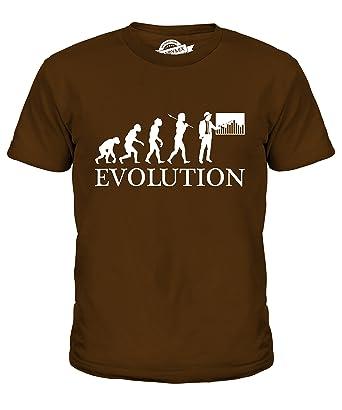 CandyMix Baumanagement Bauleiter Evolution Des Menschen Unisex Jungen  Mädchen T Shirt, Größe 2 Jahre,