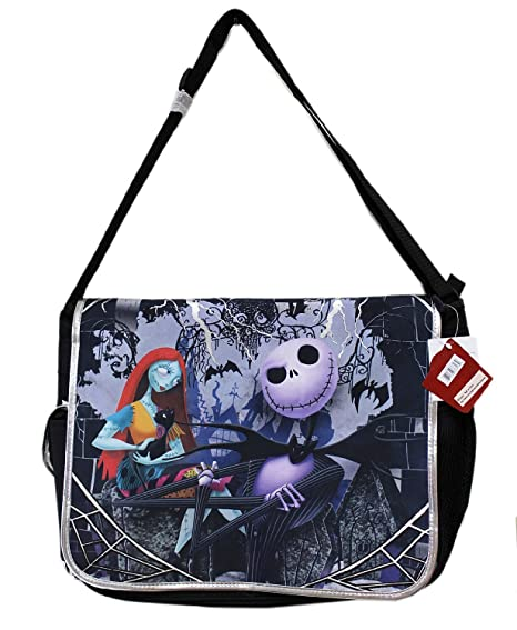 e1ef0f06351 Amazon.com  Disney Tim Burton s the Nightmare Before Christmas Large  Messenger Bag  Computers   Accessories