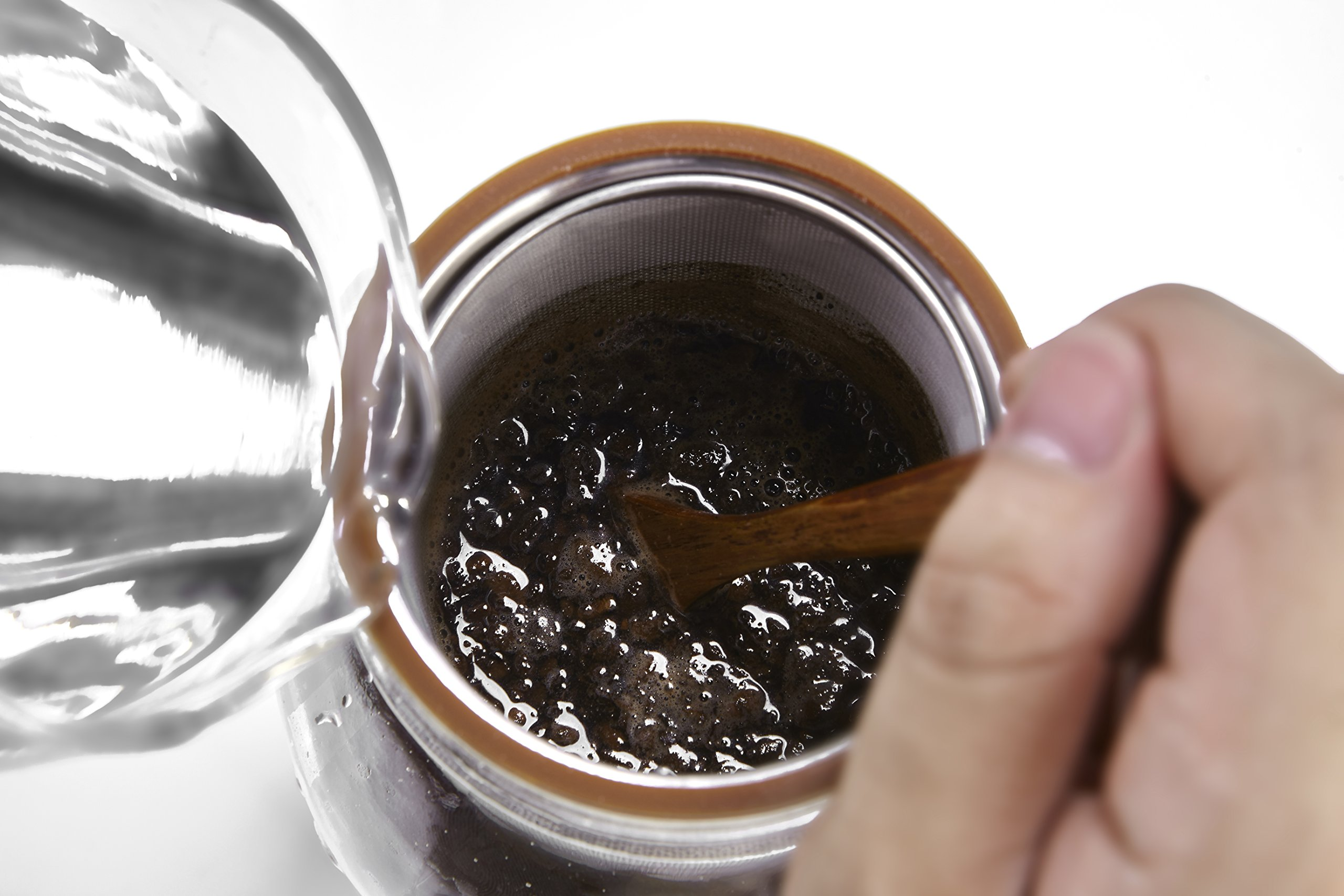 Ultra-Fine Mesh Cold Brew Coffee Filter to Use with 2-Quart Mason Jar by Geesta (Image #5)