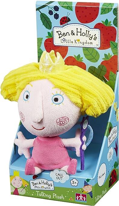 New Ben /& Hollys Little Kingdom Talking 7/'/' Holly Soft Plush Toy