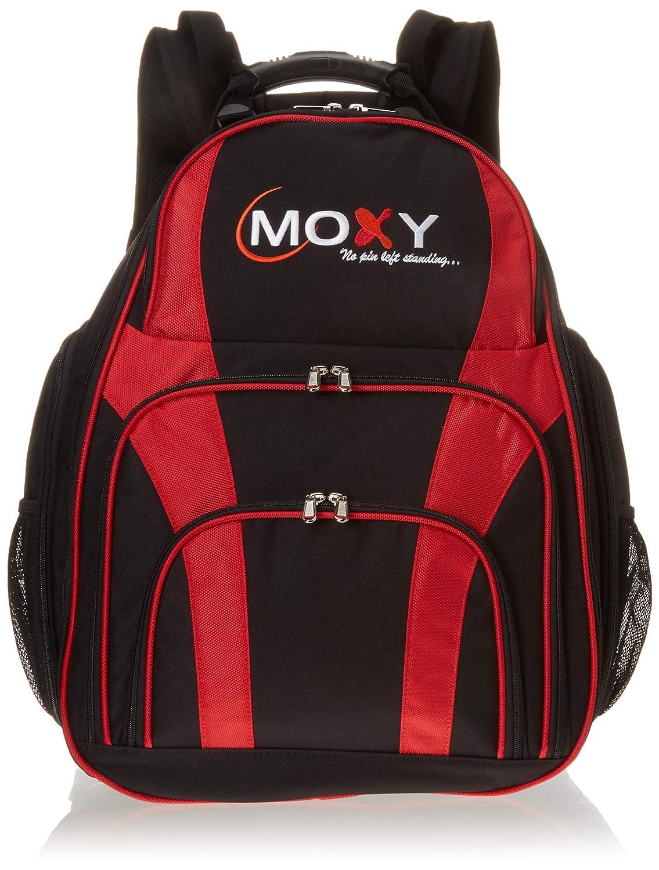 Moxy DuoバックパックBowling bag-ブラック/レッド B07959C42L