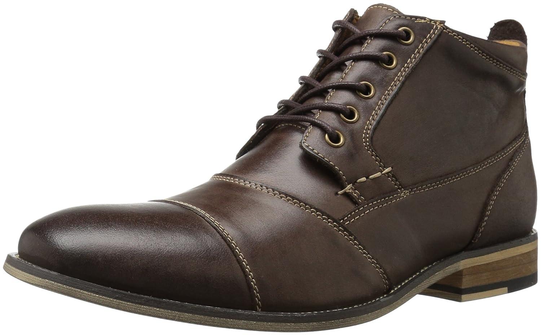 Steve Madden Jabbar Ankle Boots Herren Schuhe Dunkelbraun