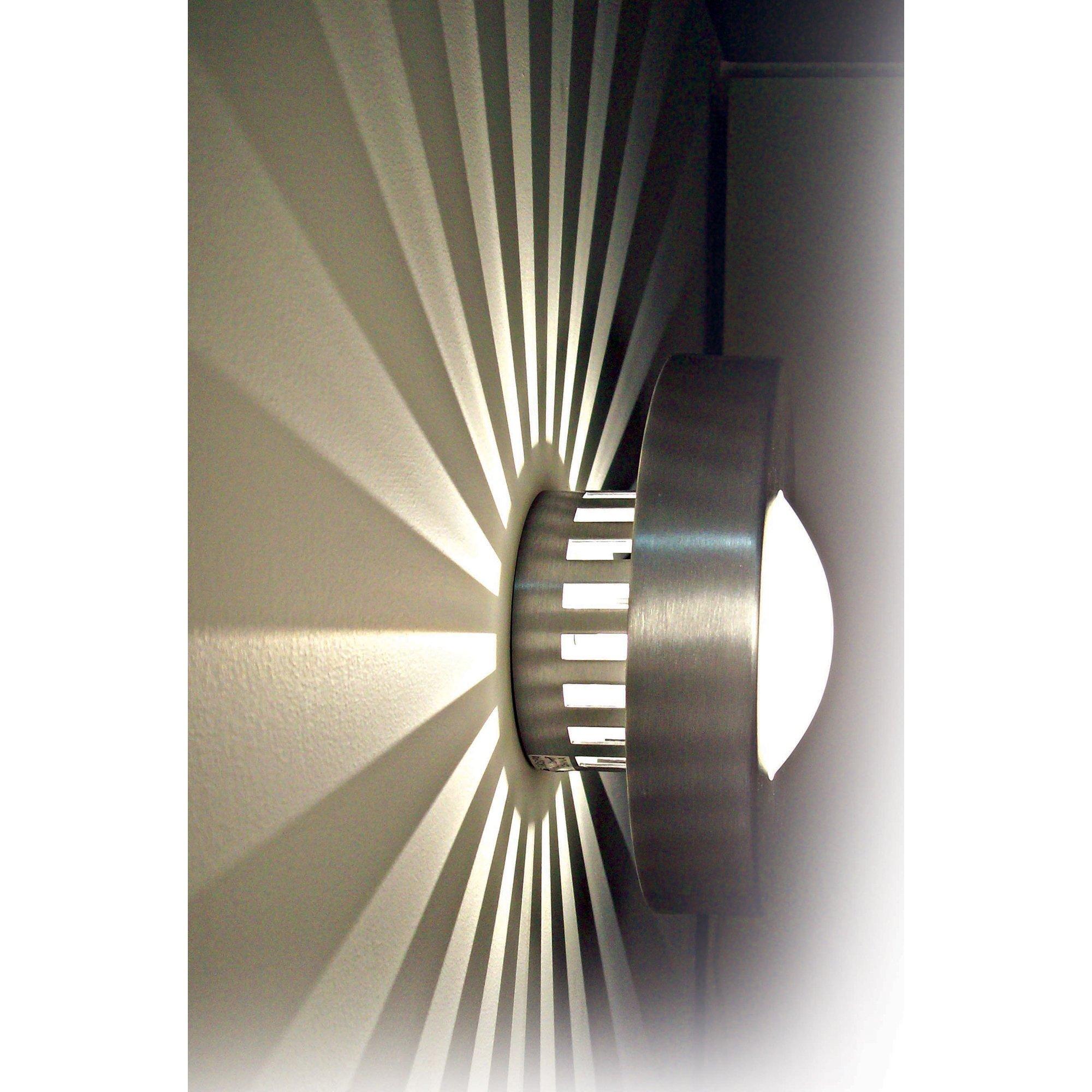 Kenroy Home 72823PA Burst Small Round Polished, Aluminum