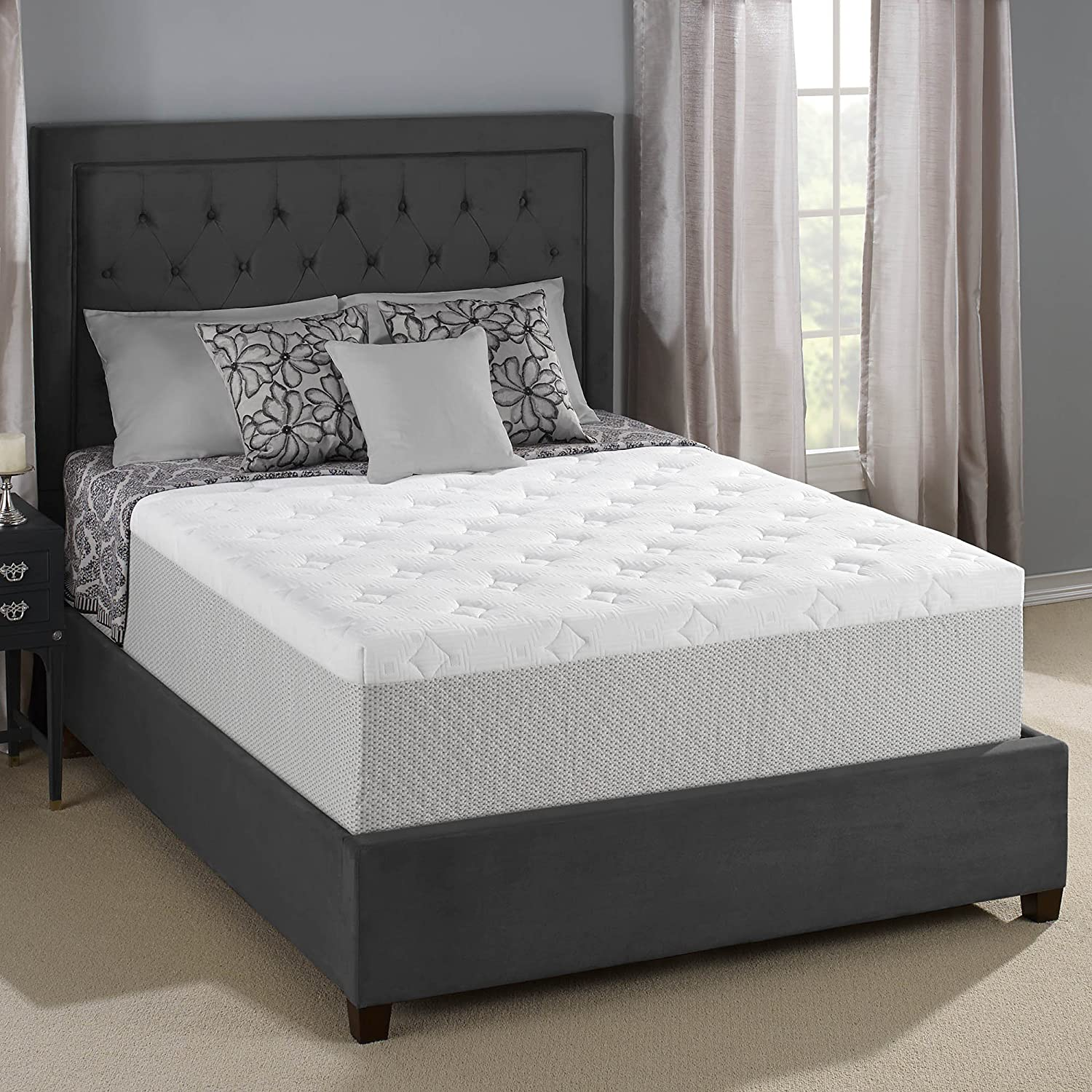 Amazon Serta 14 inch Gel Memory Foam Mattress King Kitchen