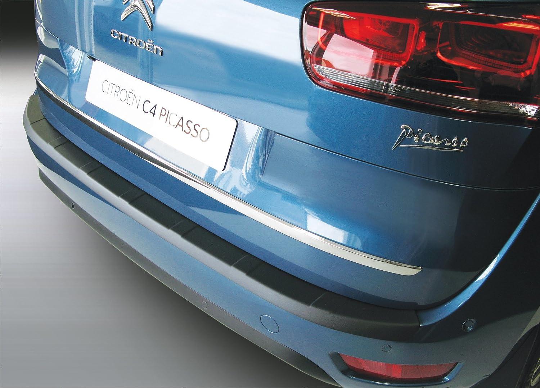 Aroba AR701 Protección Parachoques De Acero plástico ABS color negro Rearguard: Amazon.es: Coche y moto