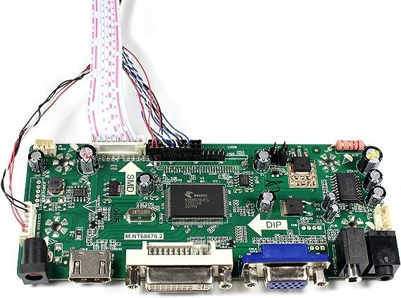 LCD LED controller Converter Driver board Kit for B116XW03 V.2 HDMI+DVI+VGA