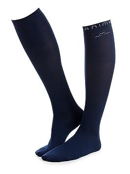 Animo Calcetines - Calcetines de equitación Tropical Modelo Torpe, talla M, Blu Marina nuevo 2018: Amazon.es: Deportes y aire libre